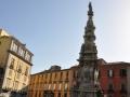 Piazza del Gesù e guglia dell'Immacolata